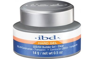 IBD LED/UV Builder Gel Clear, 14 г. – конструирующий прозрачный гель