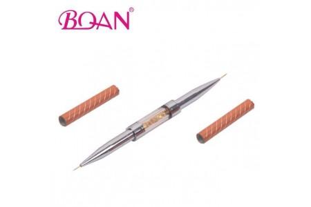 BQAN PINK COMBO кисть для дизайна ногтей и наращивания