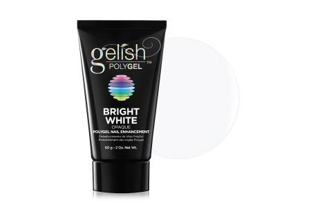 GELISH POLYGEL, bright white, 60 g - оттенок ярко-белый, 60 г