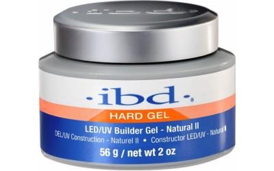 IBD LED/UV Builder Gel Natural II, 56 г. – конструирующий камуфлирующий нейтрально-телесный гель