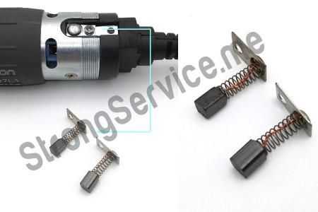 Электрографитовые щётки для микроматора (наконечника)  Marathon  комплект 2 шт,