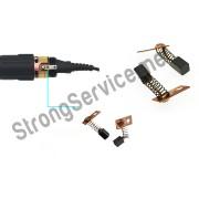 Электрографитовые щётки для микроматора (наконечника)  Strong  комплект 2 шт,